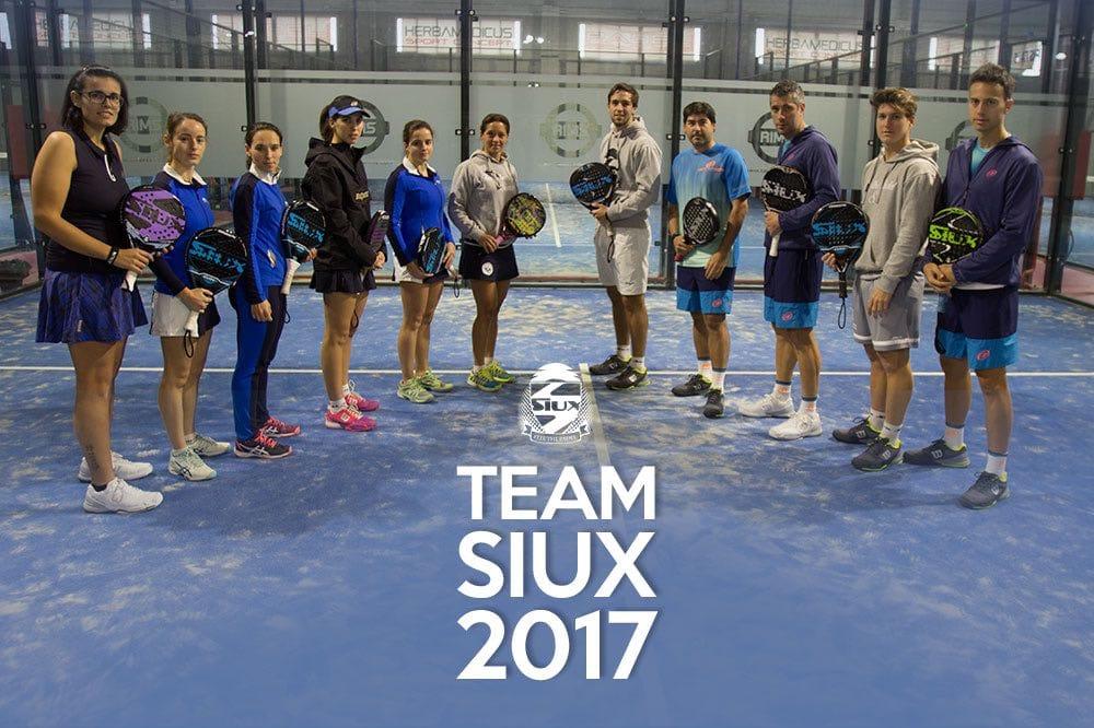 TEAM SIUX 2017 Siux inicia el World Padel Tour con 29 jugadores en el Santander Open
