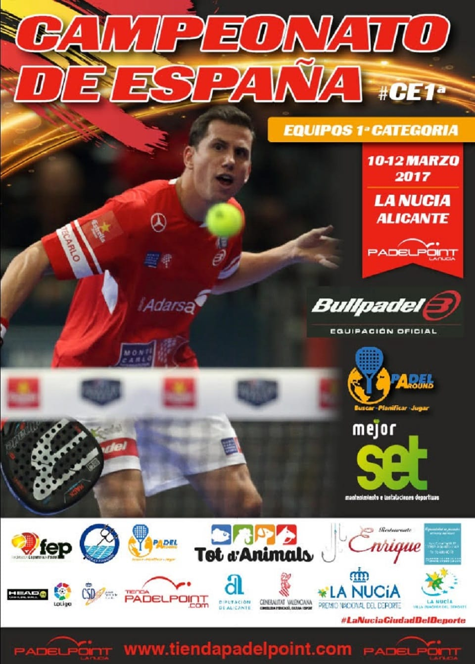 campeonato de españa XXXIII Campeonato de España por equipos de 1ª Categoría 2017