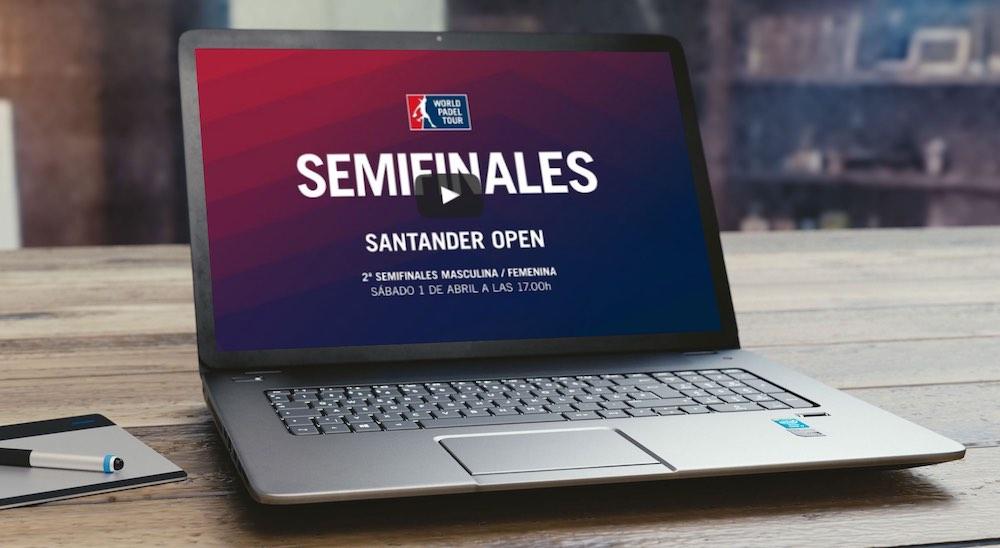 Semifinales2 WPT Santander 2017 Semifinales turno tarde World Padel Tour Santander 2017 en directo y online