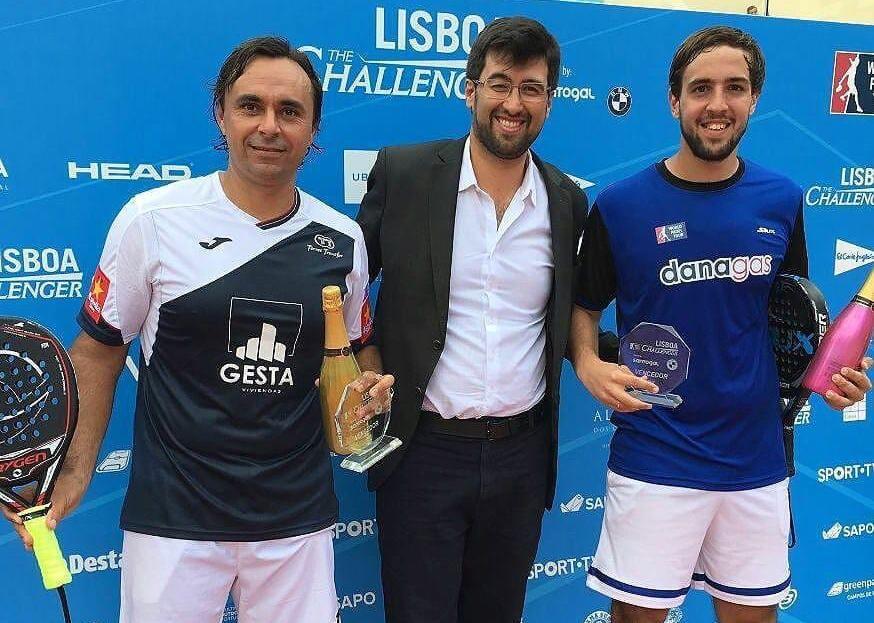 Godo Lucho campeones Lisboa 2017 Godo Díaz - Lucho Capra, campeones del Lisboa Challenger 2017