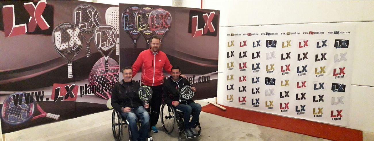 LX Padel silla Luis Peinado y Cristhoper Triviño se incorporan a las filas de LX PLANET