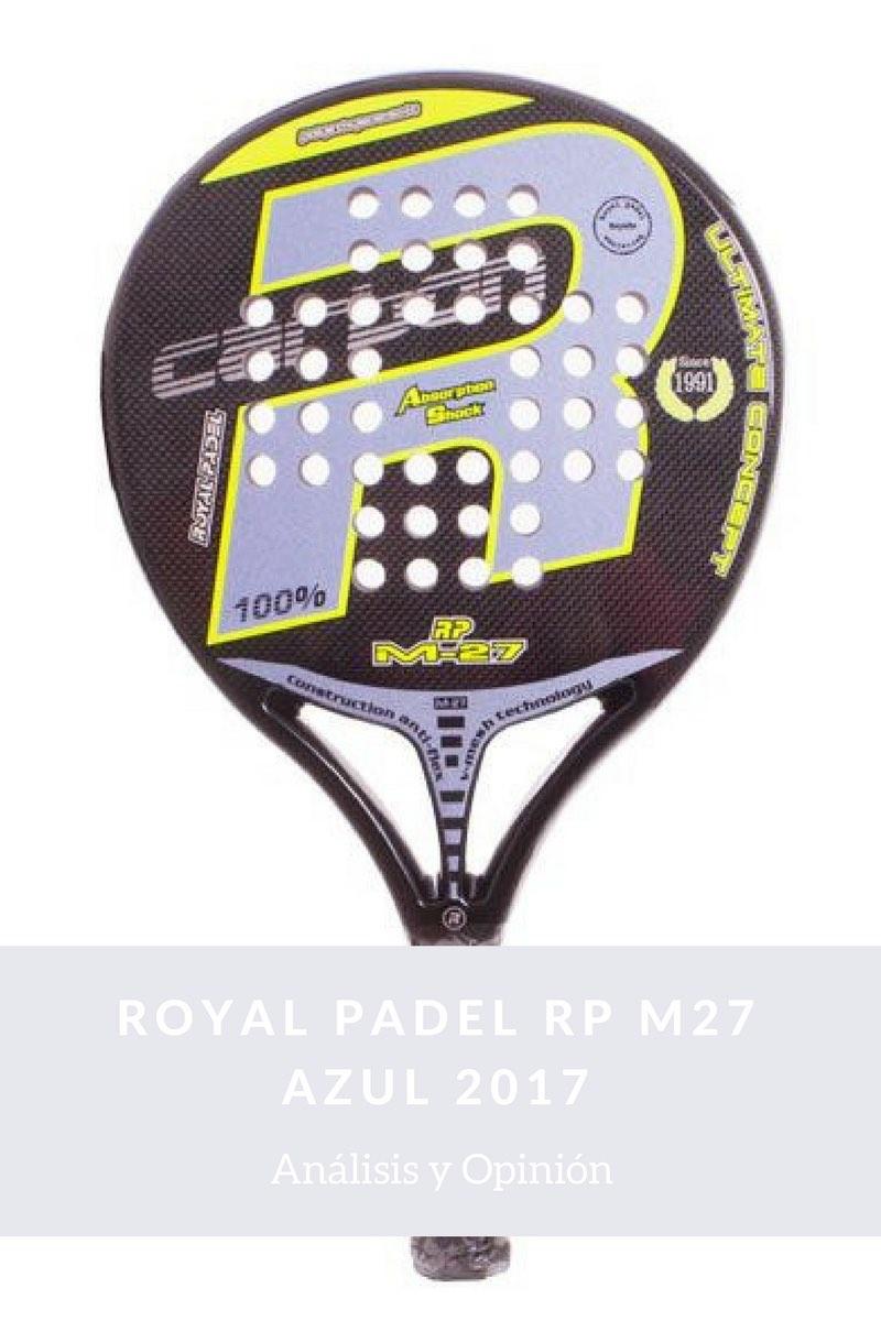 ROYAL PADEL RP M27 AZUL 2017