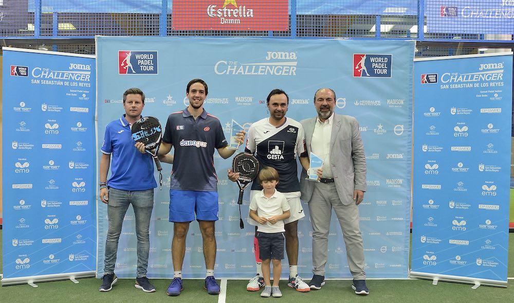 Campeones Challenger Madrid 2017 Díaz-Capra campeones en el Joma Madrid Challenger 2017