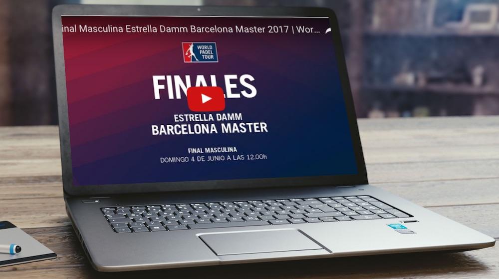 Finales Máster World Padel Tour Barcelona 2017 en directo y online