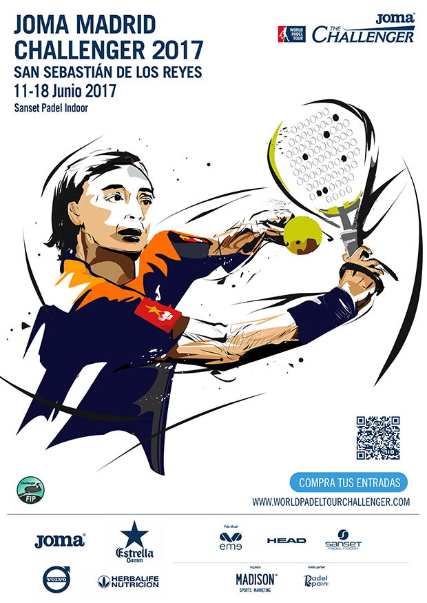 Cuadros y horarios World Padel Tour Challenger Madrid 2017