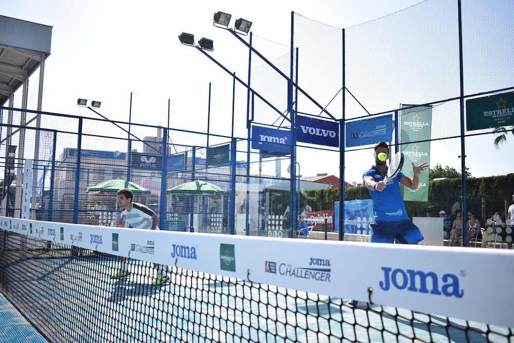 El Olimpic Club se viste de gala para albergar la primera jornada del Joma Murcia Challenger