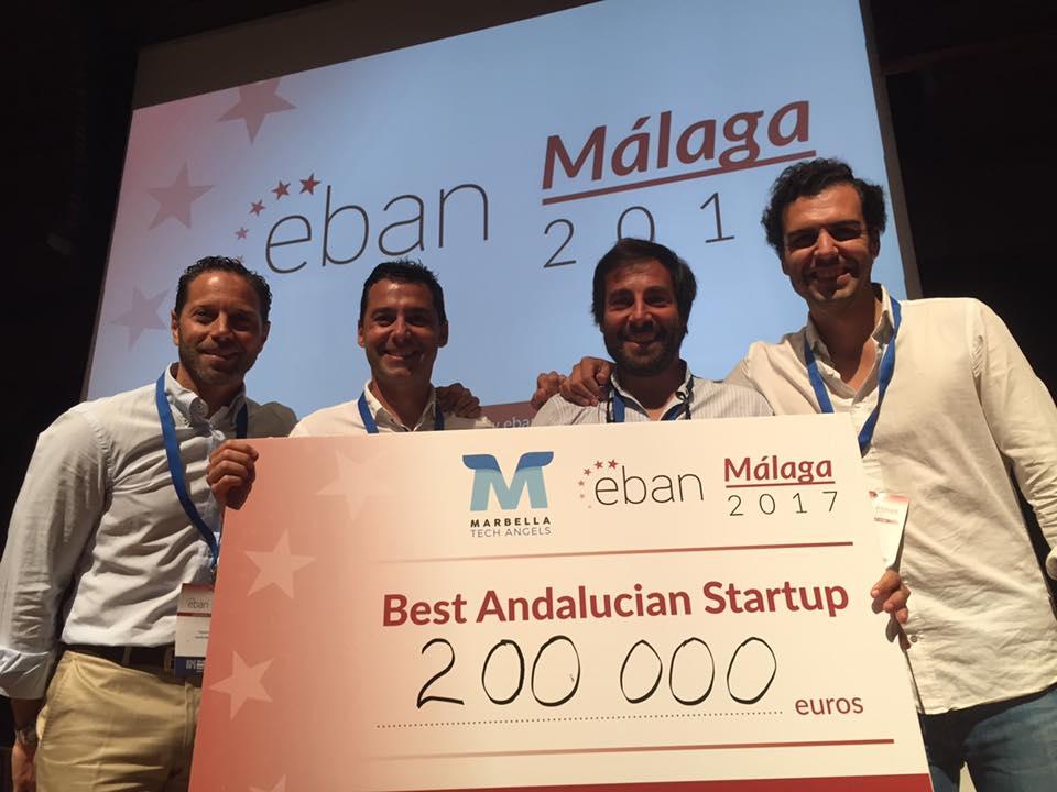 Padel Manager Mejor Startup Andaluza en EBAN Málaga 2017 Padel Manager, Mejor Startup Andaluza en EBAN Málaga 2017