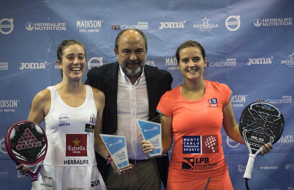 Ariana Marta Murcia 2017 Quiles-Muñoz y Ortega-Sánchez se suben a los más alto del Joma Murcia Challenger