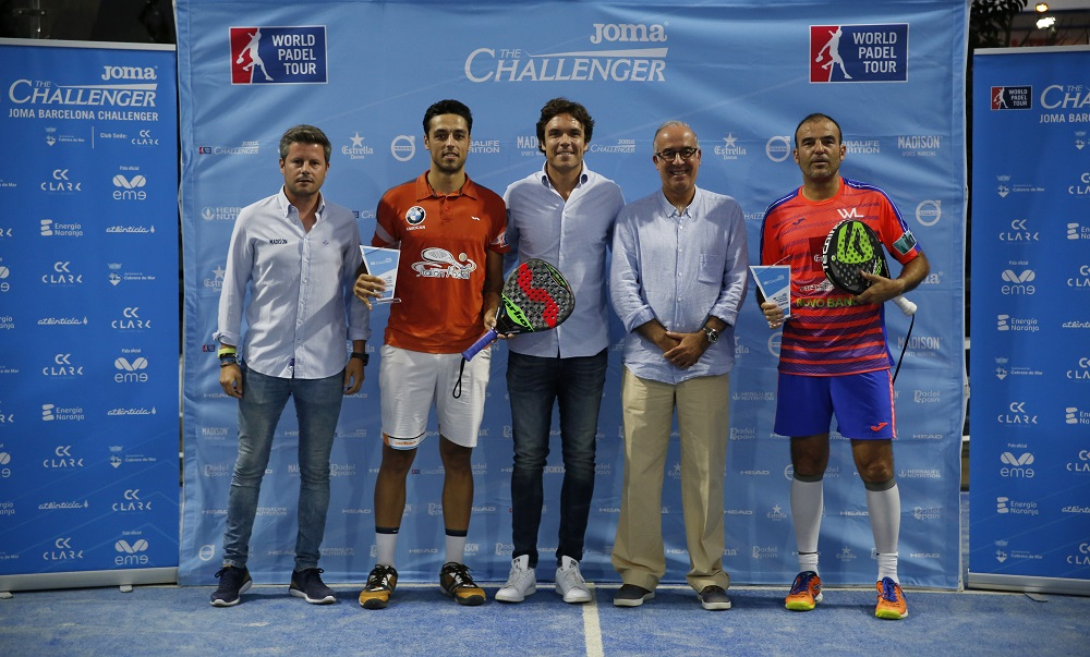 Cabrera Challenger 2017 final Willy Lahoz y Pablo Lijó conquistan el Joma Cabrera de Mar Challenger