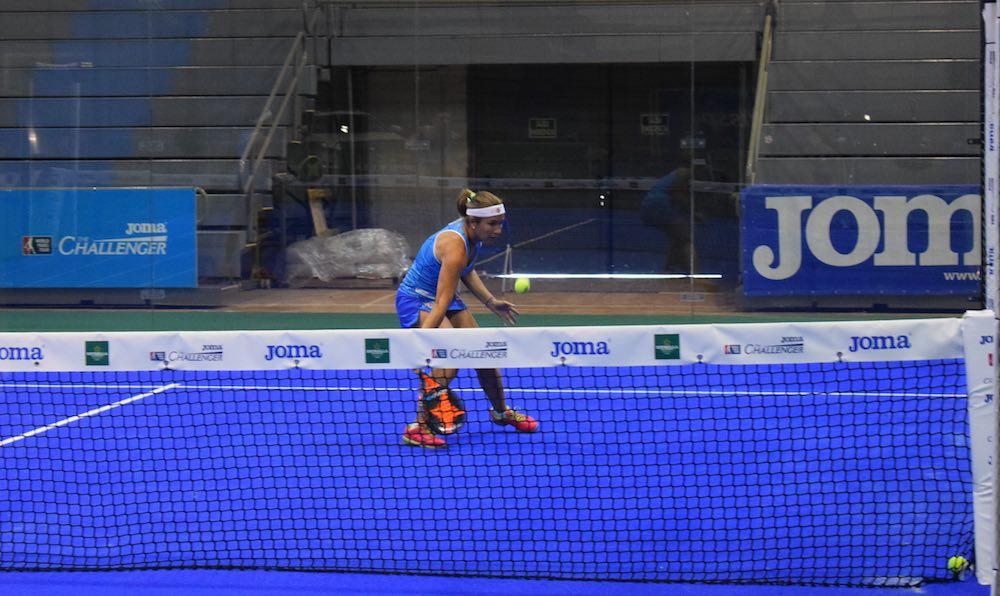 Challenger Murcia Carolina Navarro Cartel de lujo para las semifinales del Joma Murcia Challenger