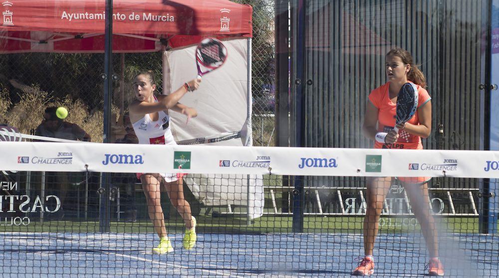 Challenger Murcia Martita Ariana Cartel de lujo para las semifinales del Joma Murcia Challenger