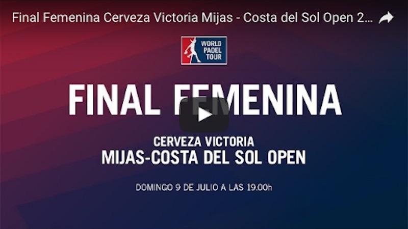 Finales World Padel Tour Mijas 2017 en directo y online