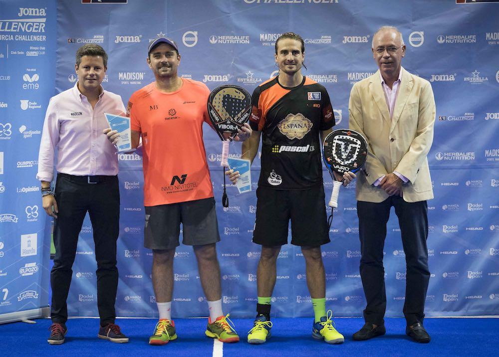 quiles muñoz Murcia 2017 Quiles-Muñoz y Ortega-Sánchez se suben a los más alto del Joma Murcia Challenger