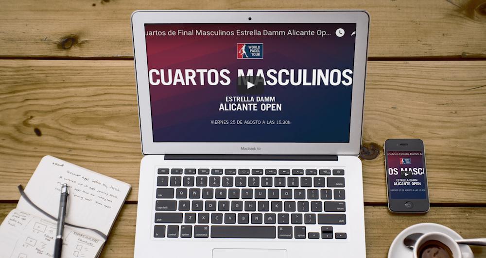 Cuartos masculinos WPT Alicante 2017 online