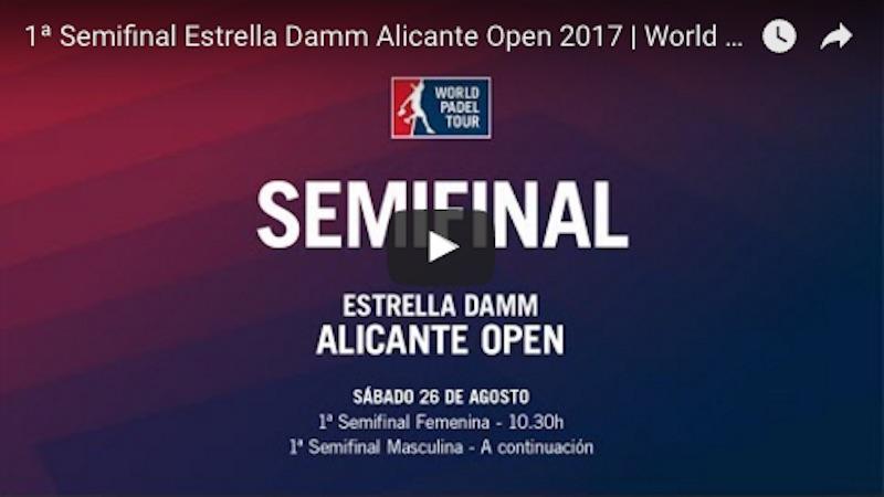 Semifinales World Padel Tour Alicante 2017 en directo y online