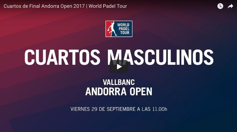 Cuartos de final en directo y online world padel tour for Cuartos de final coac 2017