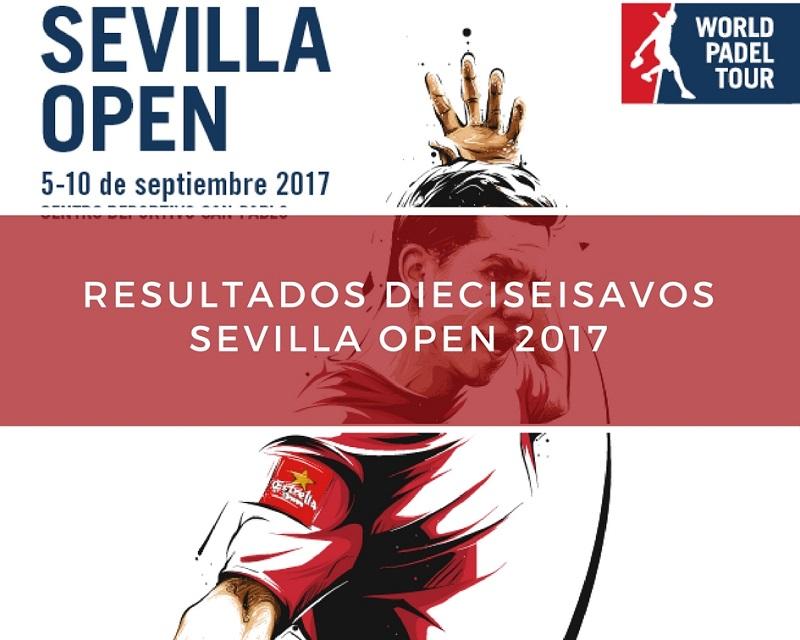 Resultados dieciseisavos de final World Padel Tour Sevilla 2017