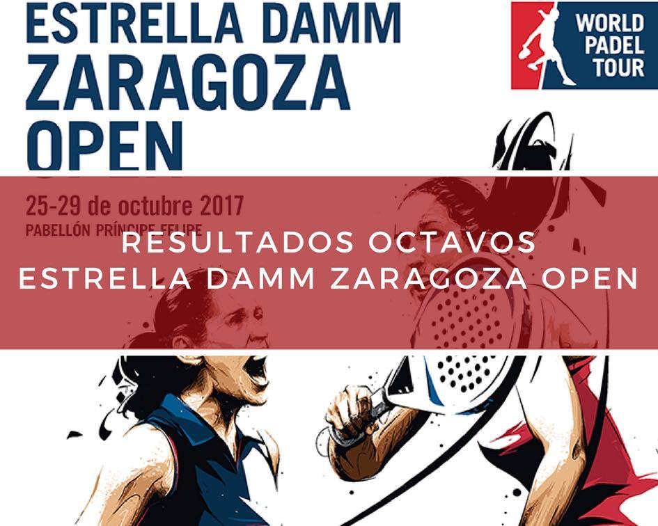 Resultados octavos de final World Padel Tour Zaragoza 2017