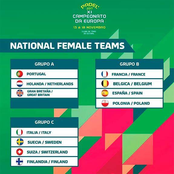 Campeonato Europa Padel 2017 Grupo B Comenzó el XI Campeonato de Europa de Pádel