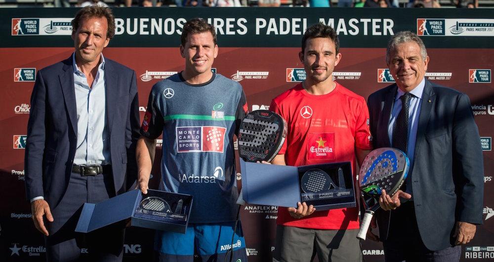 Paquito Sanyo Buenos Aires 2017 Los Nº1, Bela-Lima, se coronaron en el Buenos Aires Padel Master 2017