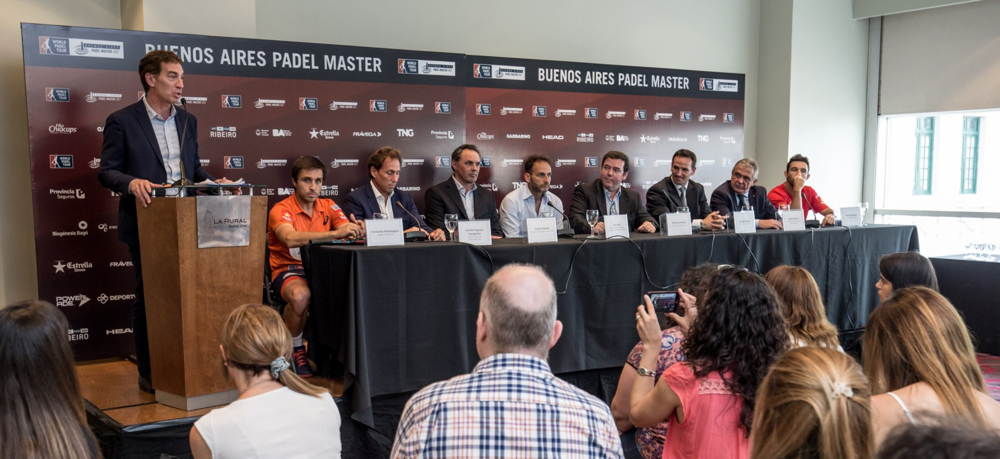 Presentacion Buenos Aires Padel Master 2017 2 Presentación oficial del Buenos Aires Padel Master en La Rural