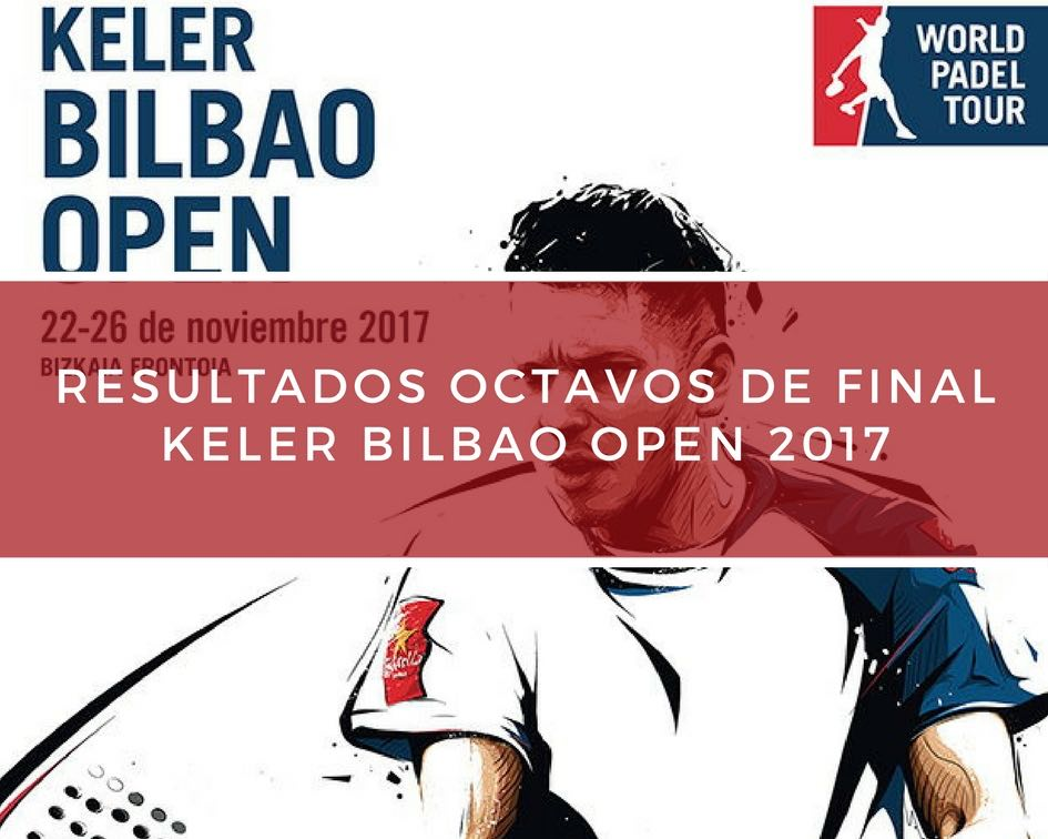 Resultados octavos de final World Padel Tour Bilbao 2017