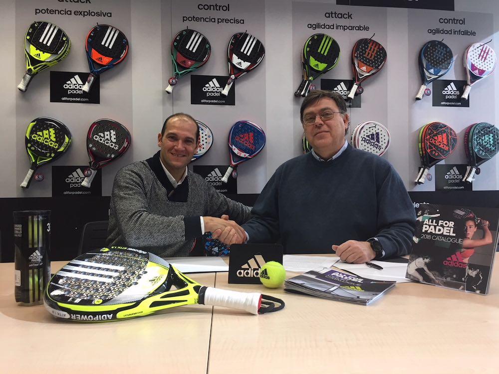 firma Seba Nerone adidas padel Seba Nerone, nuevo jugador Adidas Padel
