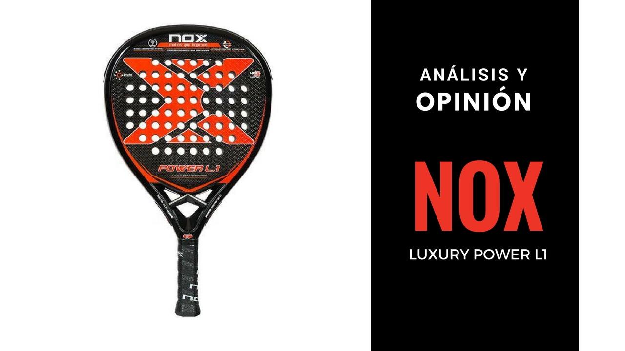 Análisis y Opinión Nox Luxury Power L1