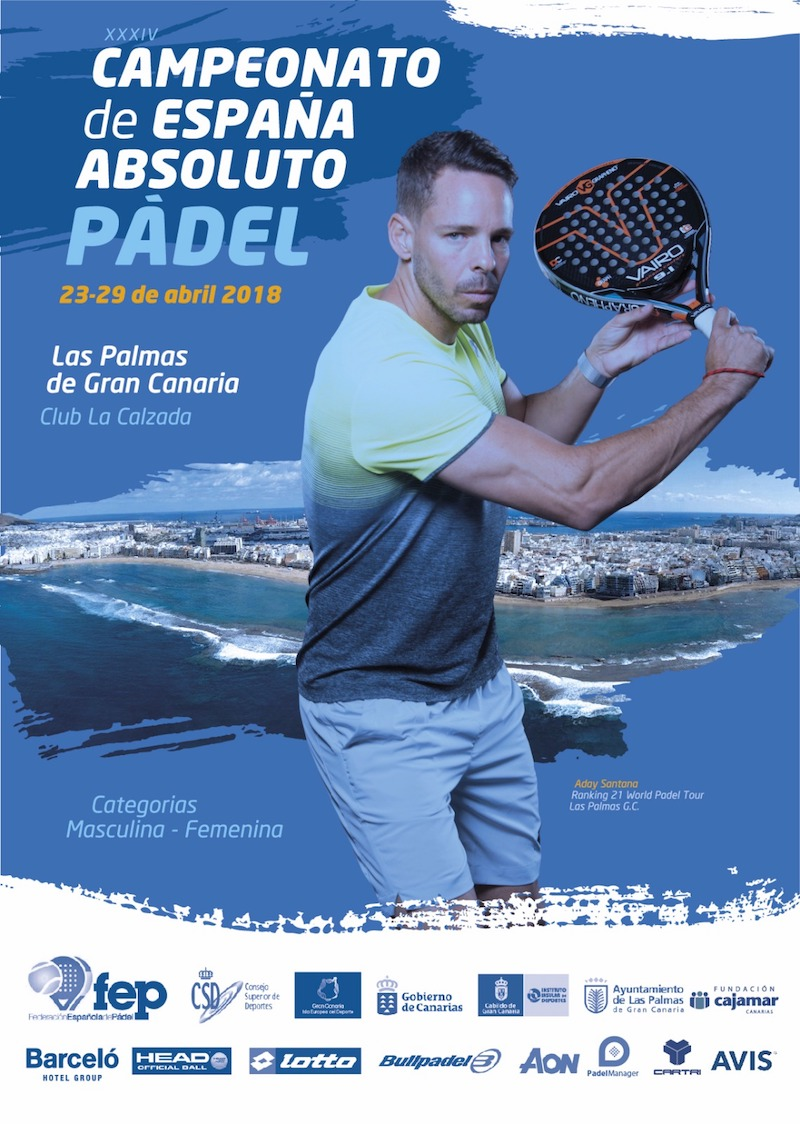 Cuadros y Horarios XXXIV Campeonato Absoluto de España