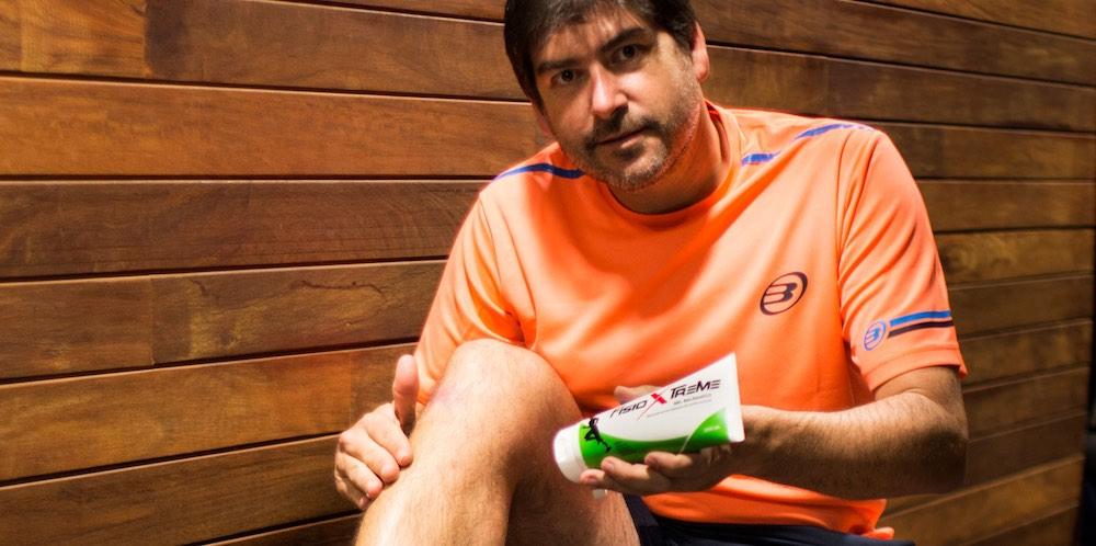FisioXtreme, el gel para deportistas que triunfa en el pádel