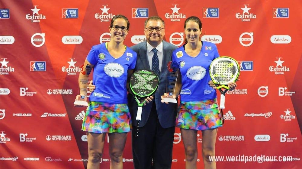 Lucia Sainz y Gemma Triay campeonas WPT Zaragoza 2018