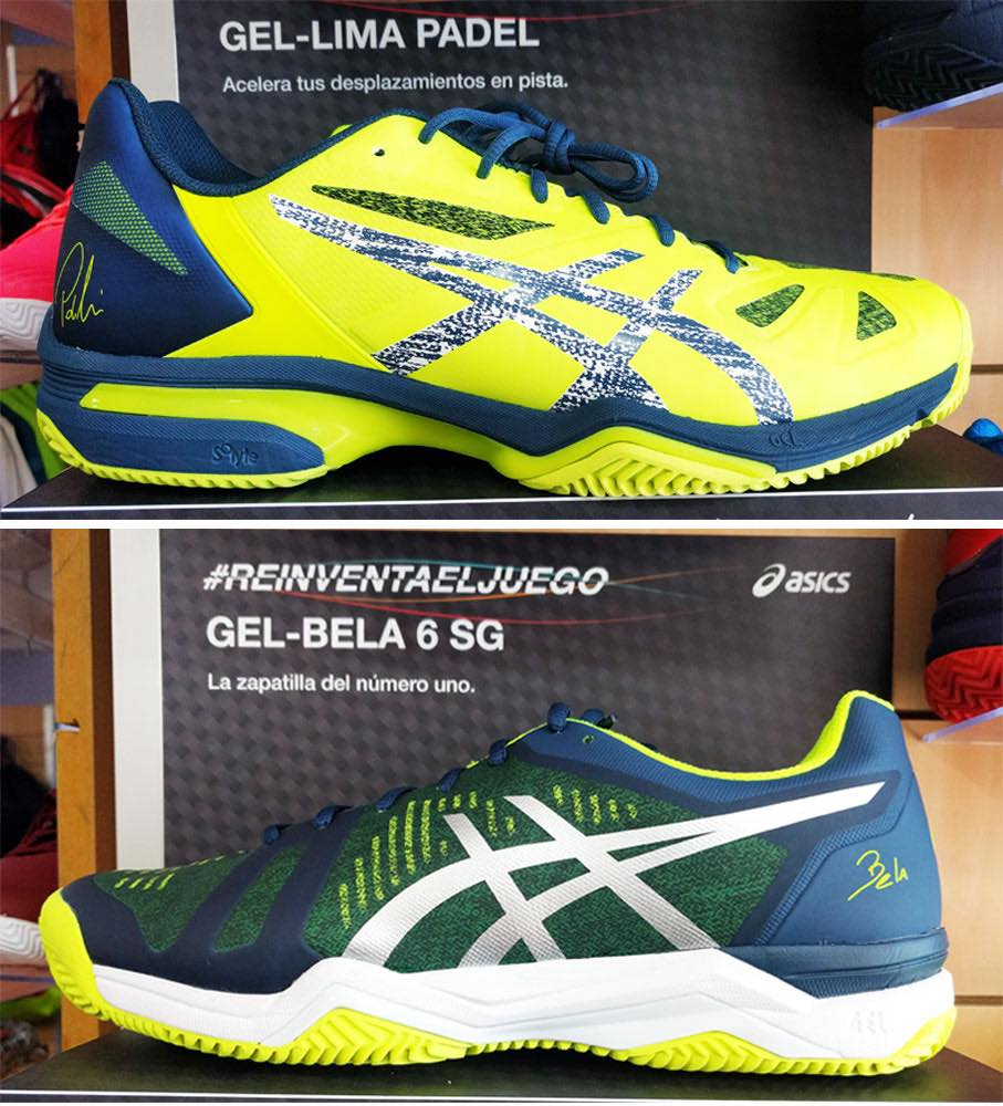 Comparativa zapatillas Asics Gel Bela 6 vs Gel Lima