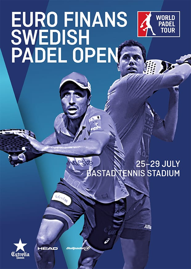 Cuadros y Horarios World Padel Tour Euro Finans Swedish 2018