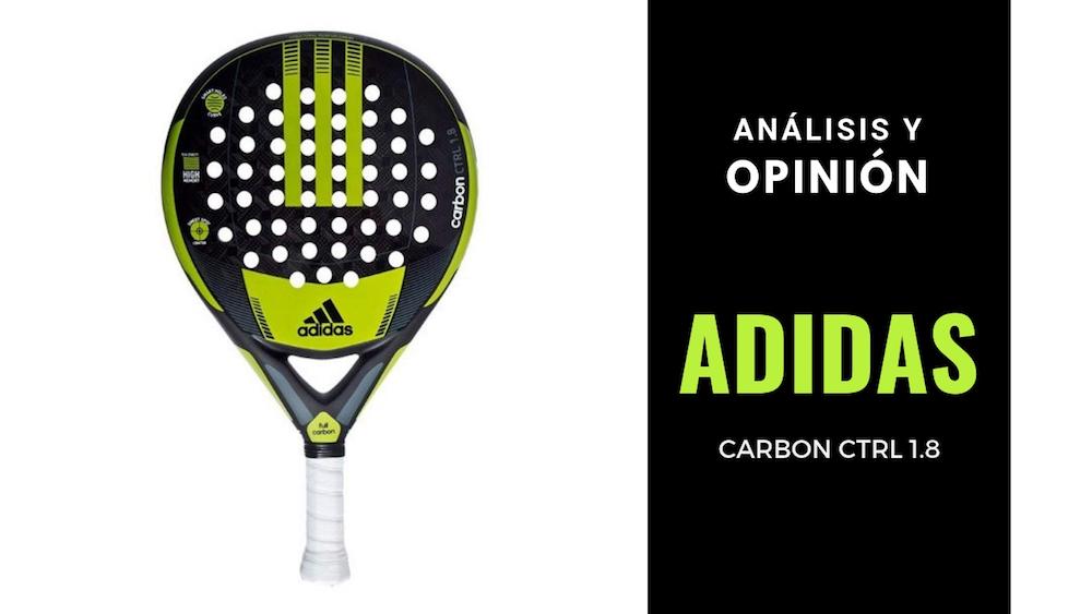 Análisis y Opinión Adidas Carbon Ctrl 1.8