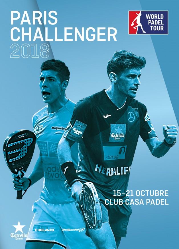 Cuadros y horarios World Pádel Tour Challenger París 2018