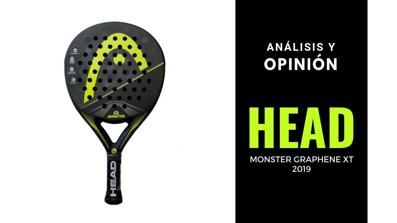 Análisis y Opinión Head Monster Graphene XT 2019