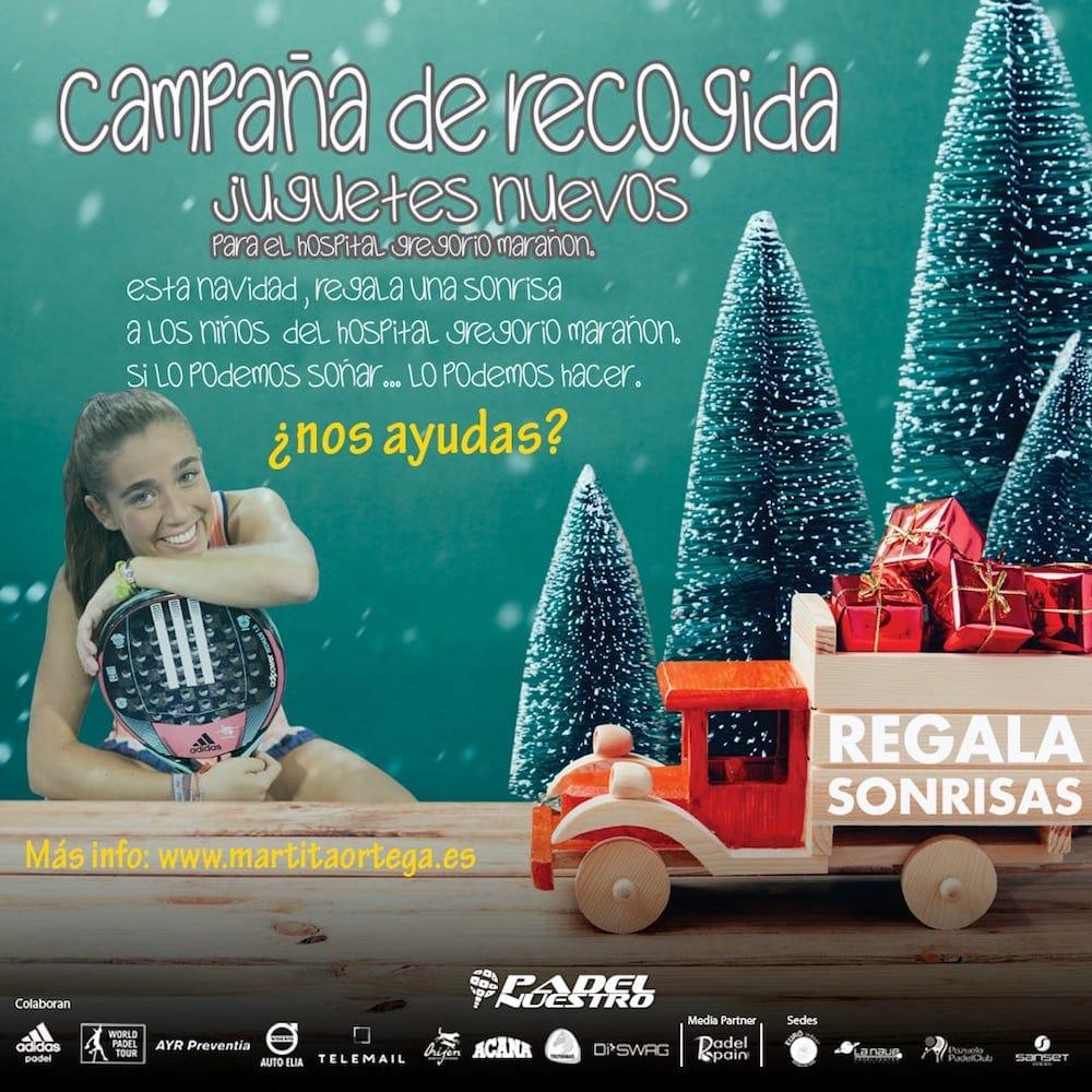 """campaña juguetes martita ortega padelnuestro """"Regala Sonrisas"""", una campaña de Marta Ortega para recoger juguetes para niños hospitalizados"""