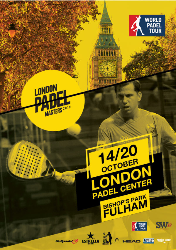 London Padel 2019 Londres acogerá un Master World Padel Tour en 2019