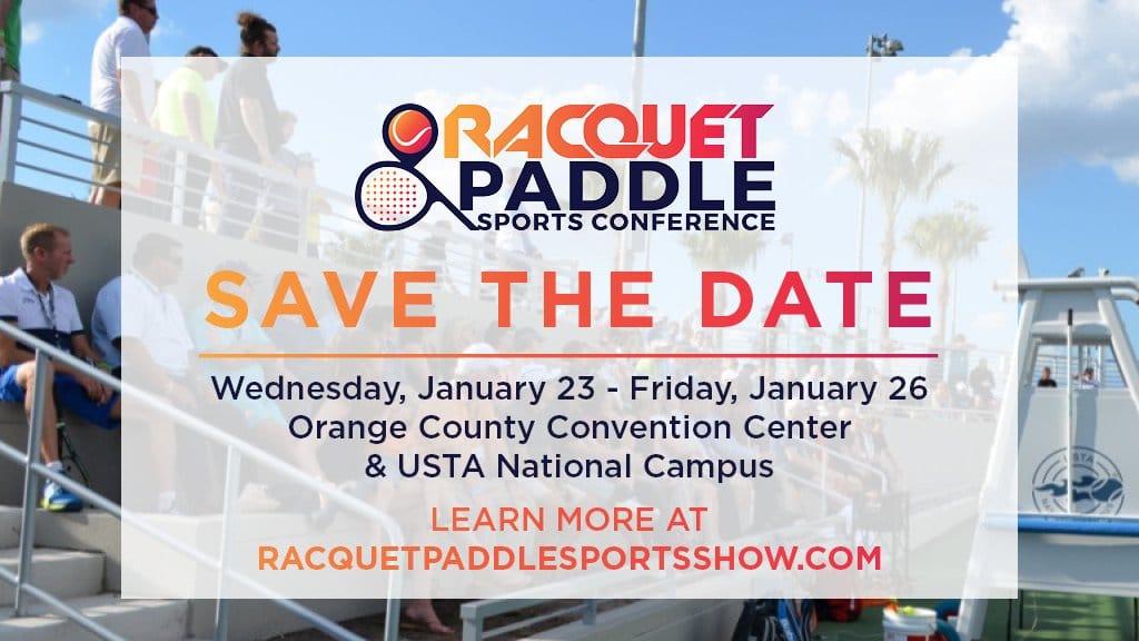 racquet paddle sports show Gran presentación del Pádel en una de las convenciones más importantes de EE.UU.
