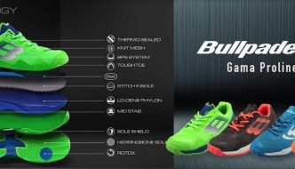 Colección zapatillas Bullpadel 2019