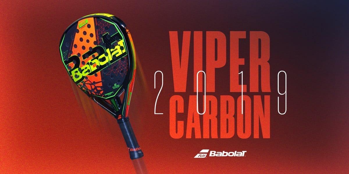 babolat viper carbon 2019 Las mejores palas control-potencia de 2019