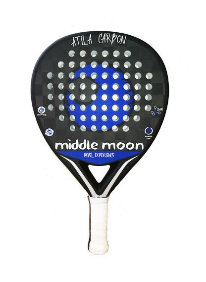 middle moon atila carbon 24k 2019 Palas de padel por menos de 150 euros
