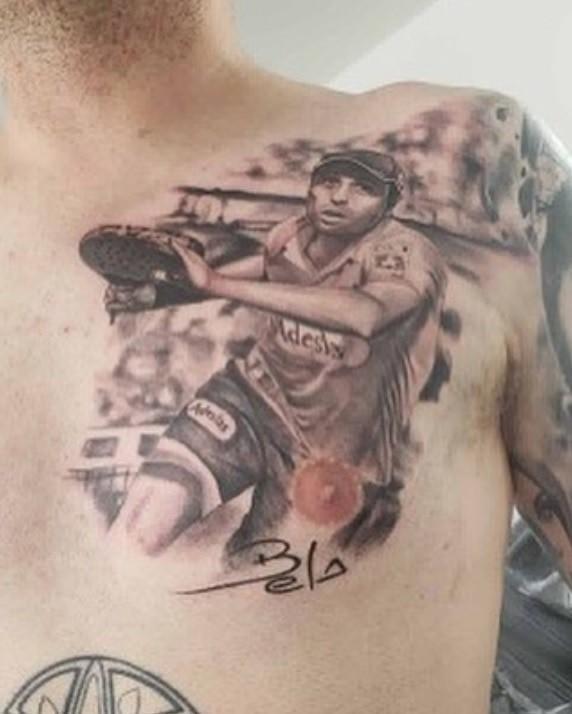 belasteguin tatuaje Los tatuajes de pádel más locos