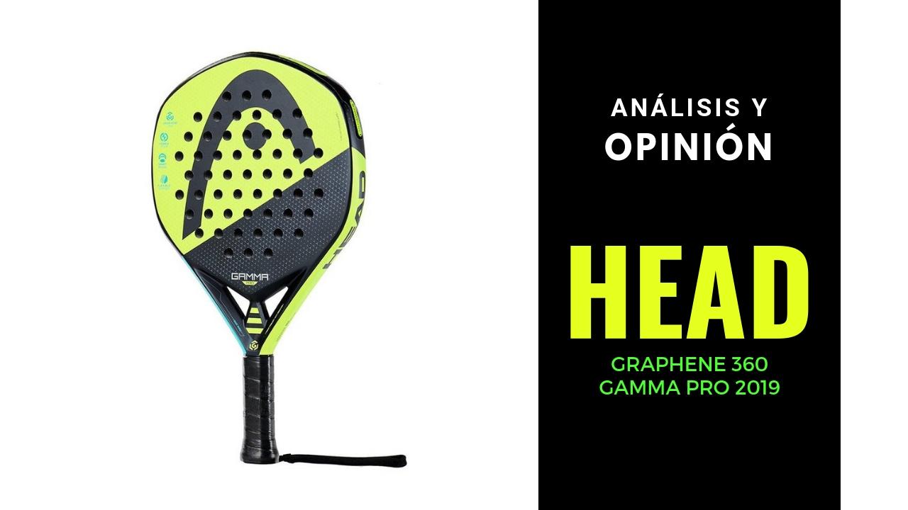 Análisis y Opinión Head Graphene 360 Gamma Pro 2019