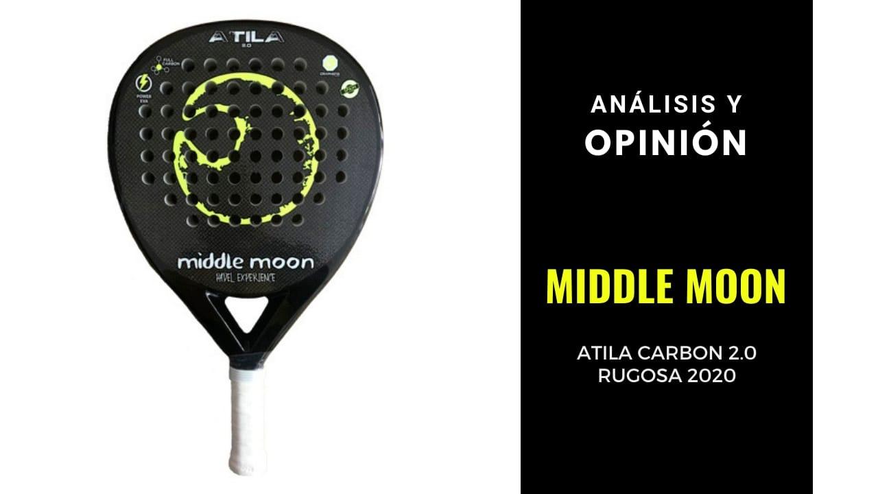 Análisis y Opinión Middle Moon Atila Carbon 2.0 Rugosa 2020