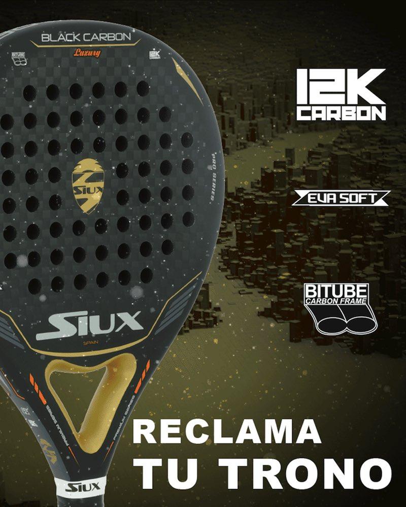 siux blackcarbon 12k Nueva Siux Black Carbon Luxury 12K