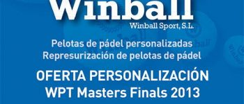 Winball en el Master World Padel Tour