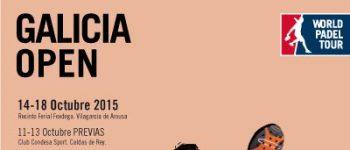 Inscritos y ranking masculino World Padel Tour Galicia 2015