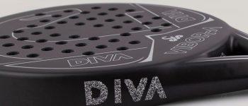 VIBOR-A añade cristales de SWAROVSKI a su nueva pala de pádel 'DIVA'