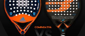 Comparativa Adidas Adipower CTRL 1.7 vs Bullpadel Vertex Control 2017